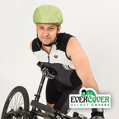 Waterproof Rainproof helmet cover for all bike helmets with reflective elements
