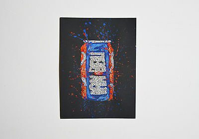 Scottish Irn Bru Design Artwork Scotland art design black paper stylish art