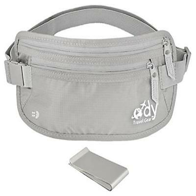 Ody Travel Gear Quality Hidden Money Belt Waist Passport Holder For Women & Men