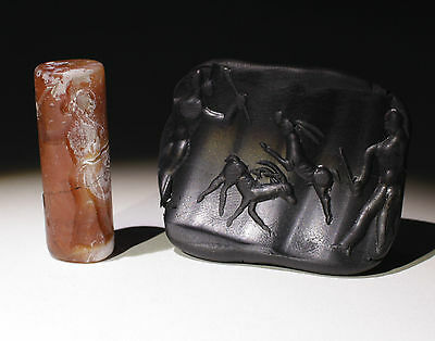 Quality Large Ancient Hardstone Seal - Circa 500Bc  - No Reserve 011