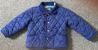 Joules Baby Boy Quilted Jacket