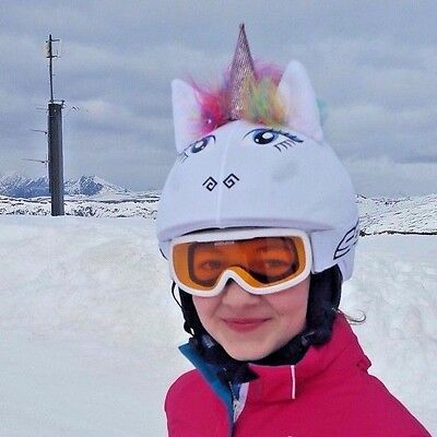 Wonderful White Unicorn helmet cover is suitable for all kinds of sport helmets