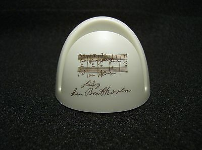 Page Up Music LV Beethoven White Document Holder