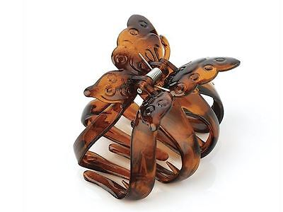 Tortoise Shell Butterfly Hair Claw Clamp Clip Hair Accessories Girls Ladies