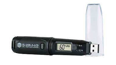 Lascar EL-USB-2-LCD Temperature & Humidity USB Data Logger {V4}