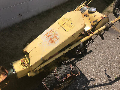 Gravely Two Wheel Walk Behind Tractor - US POST OFFICE EDITION Antique Yellow