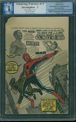 Amazing Fantasy 15 PGX 0.1 - OW Pages - Cover only