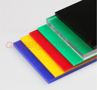 Acrylic Perspex/Altuglas Glass Custom Cut to Size Colour/Clear/Mirror Sheet