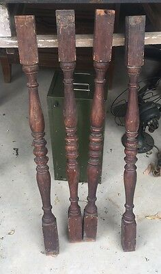 Vintage Balusters Lot of 16 Stair Spindles