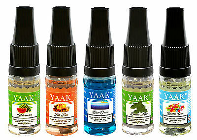 Liquid 5 x 10 ml / YAAK® E-Liquid Mix 12 in versch. Nikotinstärken / 12,49€/50ml