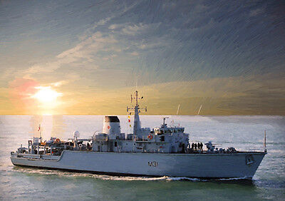 Hms Cattistock - Hand Finished, Limited Edition (25)