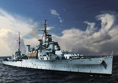 Hms Gambia - Hand Finished, Limited Edition (25)