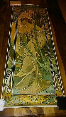 3 x very large mucha pictures/posters 108cm x 43cm