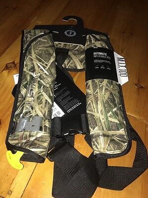 NEW MUSTANG MD2016-261 MIT 100 Inflatable Automatic PFD - Camo