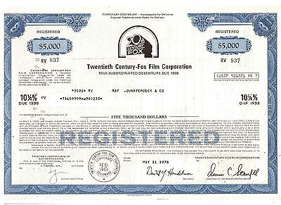 Twentieth Century Fox Film Corporation   1978