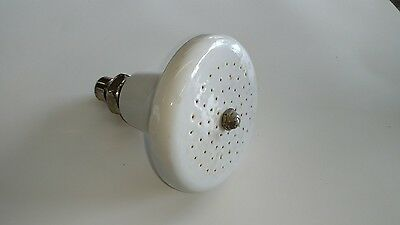 Vintage White Porcelain Shower Head