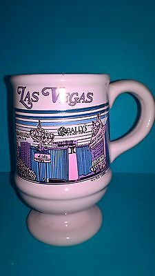 Las Vegas Mug Vintage Casino Flamingo Golden Nugget Pink 1986 Vegas Strip Cup