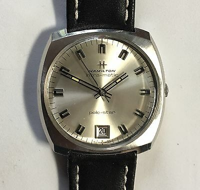 dcfd6c01a Vintage Hamilton Intra-Matic Pole-Star Automatic Stainless Steel Watch 96  30J