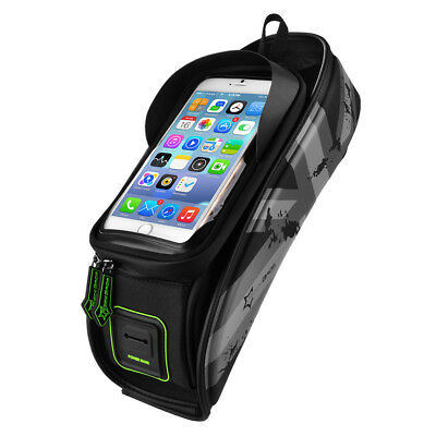 Cycling Cellphone Pouch Pannier Bicycle Frame Front Tube Waterproof Bag CS484