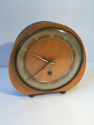 Vintage Art Deco 8 Day Clock