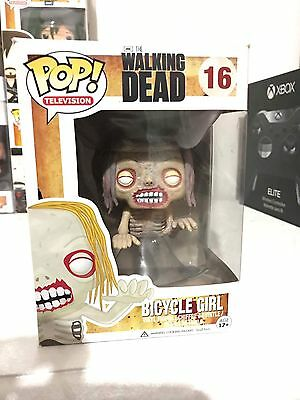 AMC The Walking Dead Bicycle Girl Funko Pop TV Vinyl Figure #16
