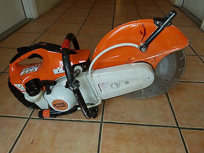 Stihl Ts420 Gas Powered Concrete Cut-Off Saw Good Condition