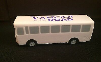 On The Road With Yahoo Stress Ball  Reliever Bus Car Collectible Internet HiTech