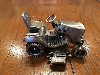 John Deere limited edition x748 pewter tractor serially numbered