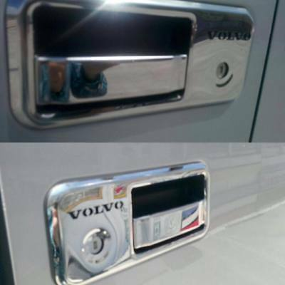 For Volvo Fh/fm Chrome Door Handle Cover Set 4 Pcs S.steel