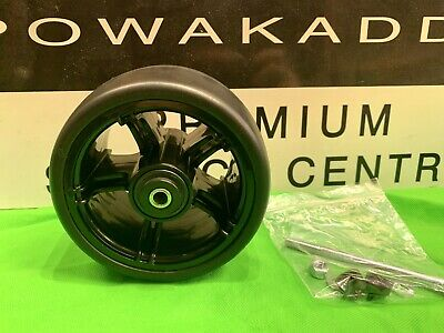 Powakaddy White Front Wheel For All Powakaddy Electric Trolleys Golf