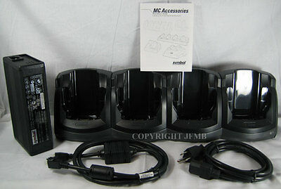 Symbol Motorola 4 SLOT Cradle Charger MC3090 CHS3000-400CR CRD3000-4000 Multi
