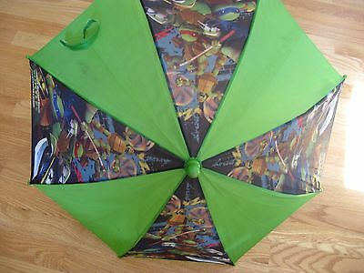 Ninja Turtles Kids umbrella with a ninja turtle handle