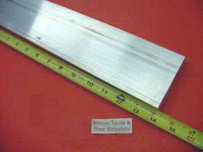 "4 Pieces 1""x 2-1/2"" ALUMINUM 6061 FLAT BAR 14"" long T6511 Solid Plate Mill Stock"