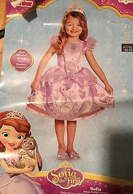 Disney Girls Sophia The First Costume Dress Up Nwt 2T