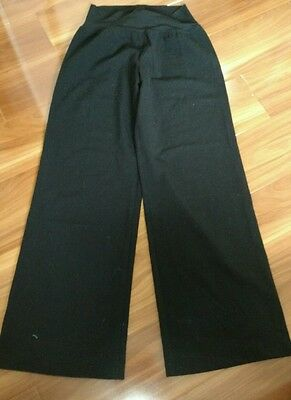 Pea in a pod BLACK MATERNITY PANTS/TROUSERS ~ SIZE 6