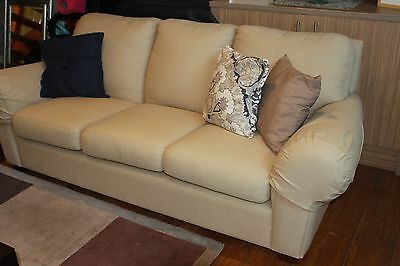 2 x Lounge sofa's 3 seater