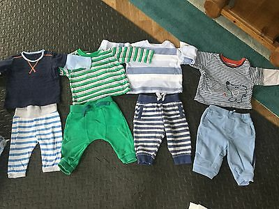 Baby Boys Bundle Clothes 3-6 Month Jumpers Trousers