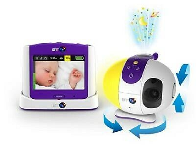"BT 3.5"" Colour Touchscreen LCD Display Video Baby Monitor 7500 Lightshow"