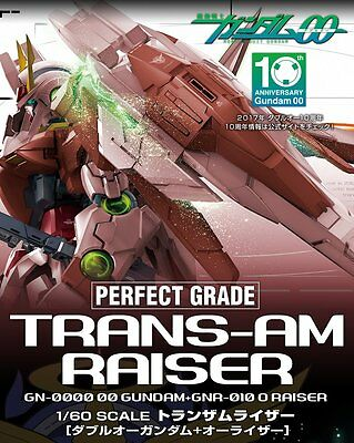 Deposit BANDAI PG 1/60 TRANS-AM Riser Plastic Model Perfect Grade Gundam