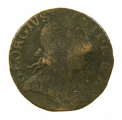 Great Britain, George Iii Halfpenny, Non Regal, 1775