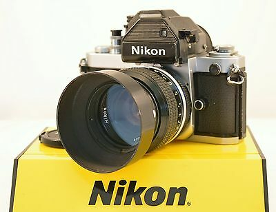 Nikon F2S Photomic 35mm Film Camera w/ Nikkor 50mm f/1.4 Lens