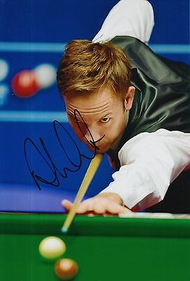 Ali Carter Hand Signed 12X8 Snooker Photo 1.