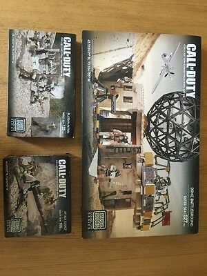 Call Of Duty Collector Construction Sets Mega Bloks Dome Battlegrounds + Extra