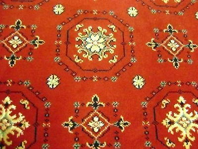 Axminster Rug size 8ft x 4ft 2ins 100% Wool Red