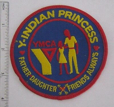 Vintage YMCA  Y-INDIAN PRINCESS  FATHER DAUGHTER FRIENDS ALWAYS PATCH