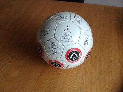 2017 League 1 champions Sheffield United F.C signed football