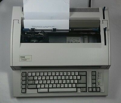 IBM Personal Wheelwriter 2 by Lexmark