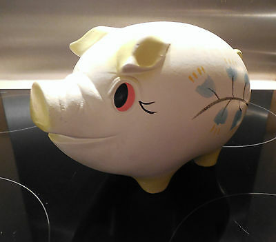 Vintage, ELLGREAVE Pottery, Piggy Bank Money Box from 1950's, Gorgeous