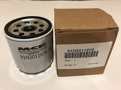 NEW Mitsubishi Caterpillar Forklift Oil Filter 91H2011870