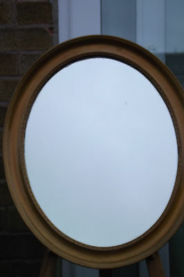 Antique Oval Mirror Lovely Piece.
